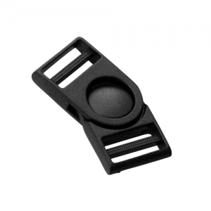 Black Plastic Side Release Buckle (A3)