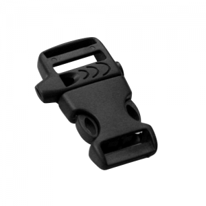 Black Plastic Whistle Buckle (A2)
