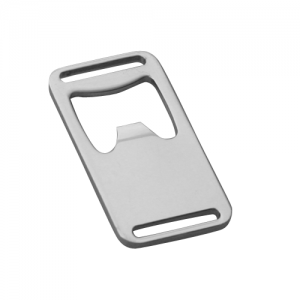 Silver Metal Bottle Opener Buckle (A6)