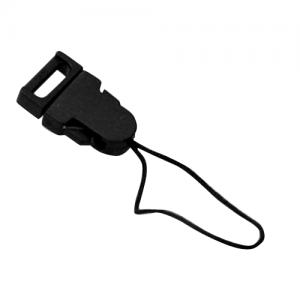Black Plastic Clip Handphone String (A22)